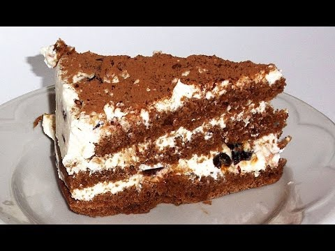 рецепты тортов с творожным кремом фото