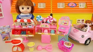 Baby doll candy Ice Cream shop baby Doli kitchen play