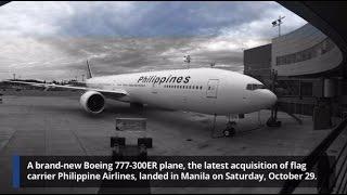PAL flies home 7th Boeing 777-300ER