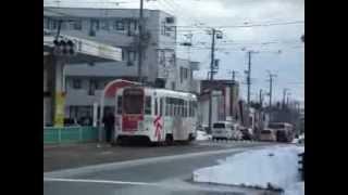 函館市電 走行風景