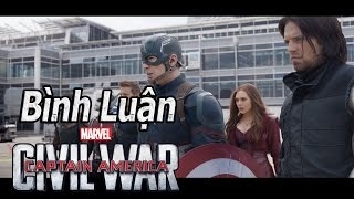 #43: Bình luận phim Captain America: Civil War - Nội chiến siêu anh hùng