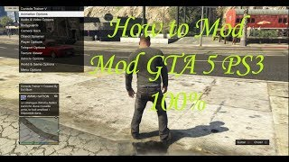gta 5 ps3 mod menu usb
