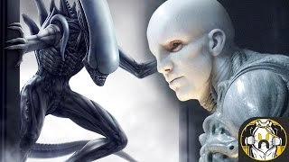 The Ultramorph (Space Jockey Alien) - Explained