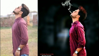 Picsart Tutorial | Smoker Boy | Hair color Changing | Picsart Photo manipulation tutorial |