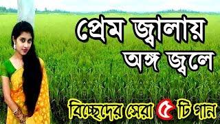 বিচ্ছেদের বাংলা বাউল গান- প্রেম জ্বালায় অঙ্গ জ্বলে | bangla baul songs | Bangla Folk Music | bd song