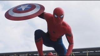 Spider Man Regreso a casa Capitan America Guerra Civil  Español Latino