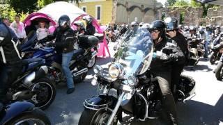 Streetbunnycrew beim Benefiz Motorradkorso am 11.06.2017 in Passau