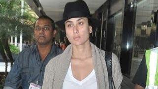 Kareena Kapoor's NO MAKEUP AIRPORT LOOK