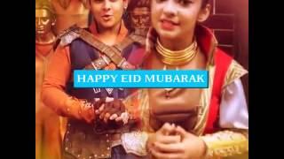 Happy Eid Mubarak ( Dev Joshi Anushka Sen)