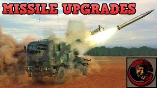 Raytheon DeepStrike Missile System - Rocket Artillery Upgrades
