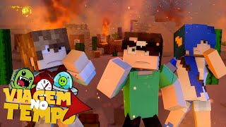 Minecraft: ATAQUE PIRATA! (Viagem no Tempo #2 )