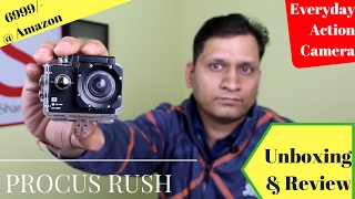 Every Day use Action Camera Procus Rush | Sharmaji Technical