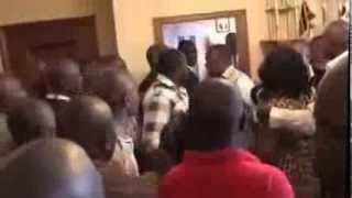 Nairobi Governor Evans Kidero slaps Nairobi Women Rep Rachel Shebesh