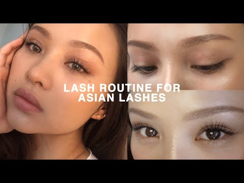Xxx Mp4 LASH ROUTINE FOR STRAIGHT ASIAN LASHES CURLED ALL DAY 3gp Sex