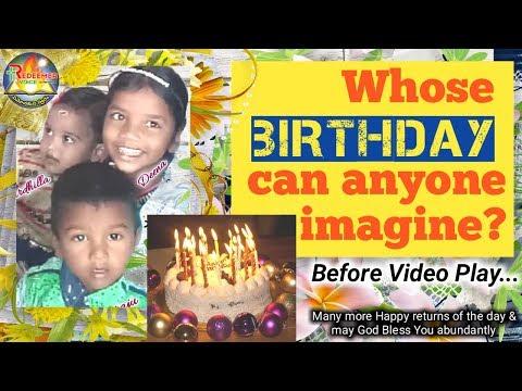 Xxx Mp4 Whose BIRTHDAY Can Anyone Imagine Cute Child Birthday Video 2018 MMS KOTI 3gp Sex