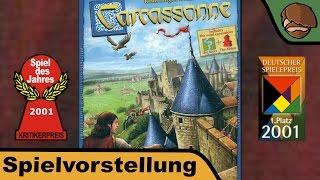 Carcassonne (Spiel des Jahres 2001) - Spielvorstellung und Regeln