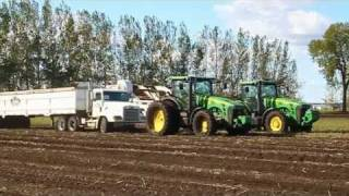 Potato Harvest - Stress free pulling with the Safe-T-Pull