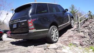 2017 Range Rover Offroad on The Land Rover Test Course!