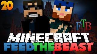 Minecraft Modded Survival - FTB 20 - NUKE THE WITCH