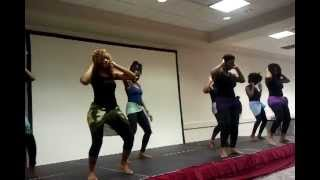 Cameroon girls dancing in wichita falls tx