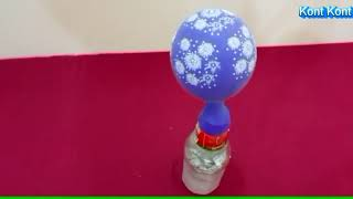 How to Make a Flying Balloon Without Helium At Home