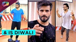 Rithvik Dhanjani, Karan Grover and Karan Tacker dance rehearsals