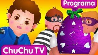 ChuChu TV Ovos Surpresa da Polícia - Episódio 02 – Surpresa da fábrica de presentes de Ovos