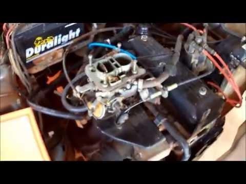 limpeza do carburador WEBER 460 motor cht part 1 2