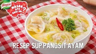 Resep Sup Pangsit Ayam