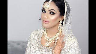 Pakistani Nikkah Bridal Makeup