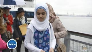 Whoopi Goldberg Gives Syrian Refugee Family A Tour of NY   The View