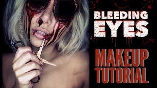 missing eyes sfx halloween makeup tutorial