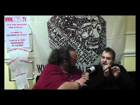 39mo congresso PRNTT - Intervista a Nicolas Ballario
