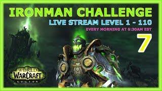 Warcraft (WoW) Ironman Challenge - Level 59 - 65