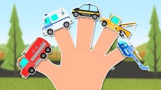 Emergency Vehicles Finger Family | Cars Finger Family