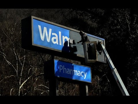 When Wal Mart leaves small towns behind