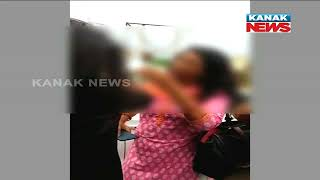 Lady Thrashes Husband's Girlfriend In Bhubaneswar, Video Goes Viral
