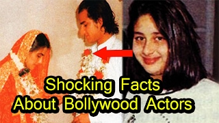 10 Shocking Facts About Bollywood Actors