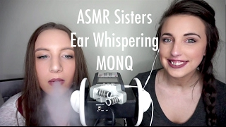 ASMR Sisters Close Ear Whispers with MONQ Personal Diffusers
