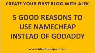 Namecheap VS Godaddy (How Namecheap Can Save You Money...)