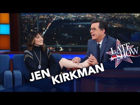 Stephen Redesigns Comedian Jen Kirkman s Ankle Tattoo