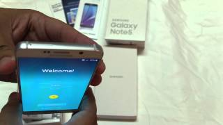 Samsung Galaxy Note 5 64GB Unboxing