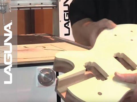 Guitar Making IQ CNC Router by LAGUNA