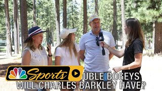 ACC Championship: Charles Barkley most likely to throw a club in the lake I NBC Sports