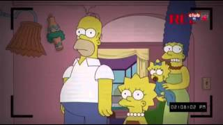 Les Simpson paranormal activity (vf)