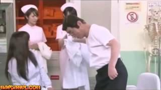 Khám bệnh gặp Bác sĩ dê cô bệnh nhân xinh đẹp đòi cưởi quần áo hài hước nhật bản