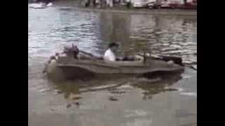 Veículo Anfíbio no Encontro Paulista de Carros Antigos