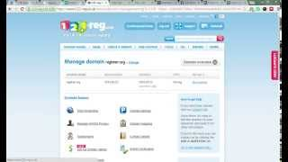 How to Change DNS Address in 123reg