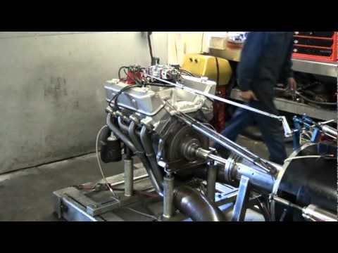 Ford FE 445 Stroker Dyno Pull 450 hp & 512 torque