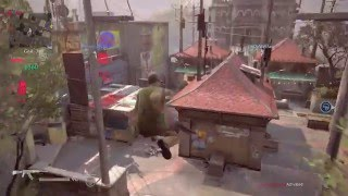 Uncharted 4 Multiplayer: Madagascar City - Plunder Mode (Direct-Feed PS4 Gameplay)